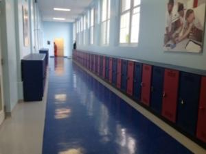 secondary corridor